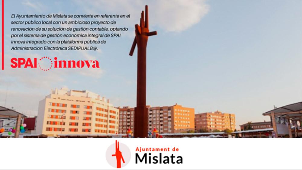 El Ayuntamiento de Mislata concluye con éxito la modernización de su sistema contable y presupuestario